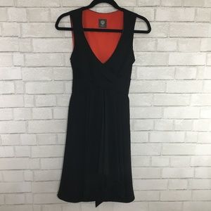 Vince Camuto Black Strapless Cocktail Dress, 4